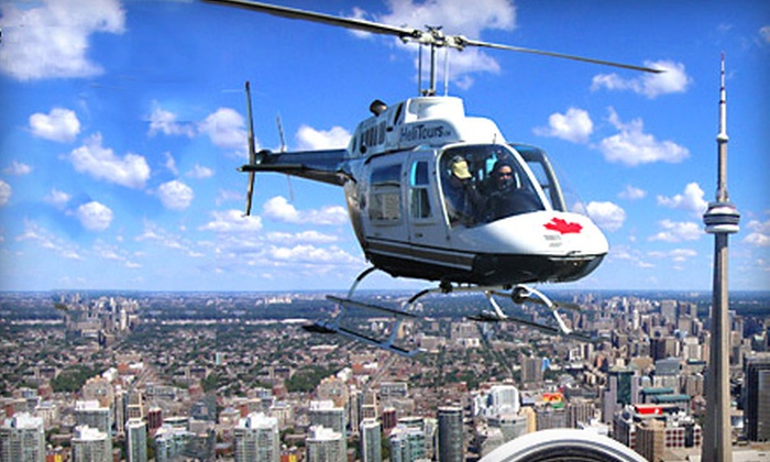 Toronto Helicopter Tours - Toronto: $67 for a 15-Kilometre Helicopter Tour of Toronto from Toronto Helicopter Tours ($111.87 Value)