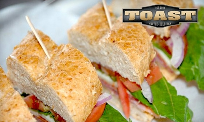 Toast - Lincoln: $7 for $15 Worth of Coffee, Deli Fare, and More at Toast