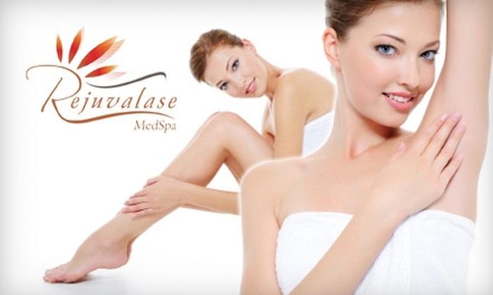 Rejuvalase Medspa - Aquia: $119 for Six Laser Hair-Removal Treatments at Rejuvalase Medspa (Up to $940 Value)