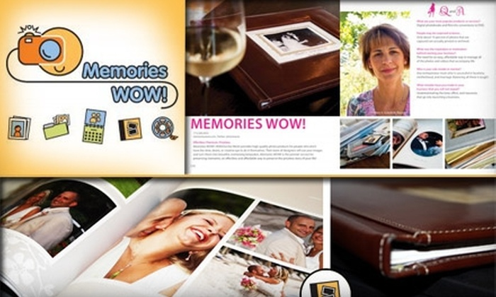 Memories WOW! - New York City: $25 for $55 Worth of Personalized Photo Keepsakes from Memories Wow!