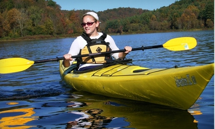Wilderness Experiences Unlimited - Southwick: $29 for $65 Toward a Kayaking Class at Wilderness Experiences Unlimited in Southwick