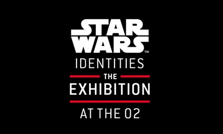 STAR WARS™ Identities: The Exhibition at The O2: Child, Adult or Family Ticket, 27 July 3 September *