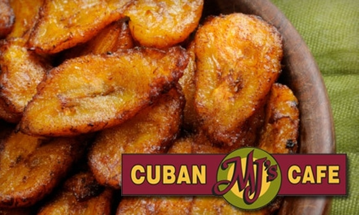 MJ's Cuban Cafe - Cleveland Heights: $7 for $14 Worth of Cuban Fare at MJ's Cuban Cafe