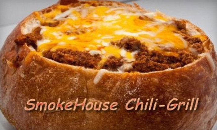 SmokeHouse Chili Grill - New Rochelle: $7 for $15 Worth of Chili and Comfort Foods at SmokeHouse Chili Grill