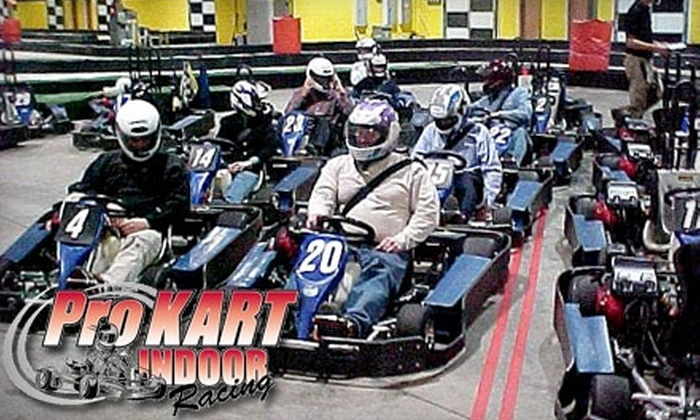 ProKart Indoor Racing - Dayton: $20 for Two Eight-Minute Races and $8 Off Additional Races for One Year at ProKart Indoor Racing in Maple Grove ($37 Value)