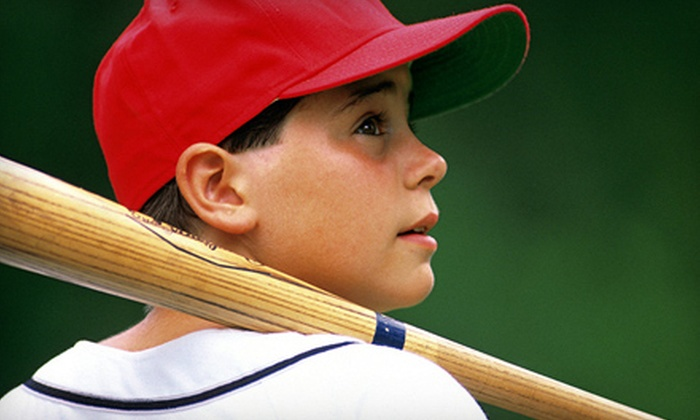 Sluggers - Montgomery Business Park: $15 for One Hour of Batting Practice at Sluggers ($30 Value)