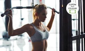 Academia Muscle Fitness: 1, 3 ou 6 meses de academia com ergometria, musculação e ABS na Academia Muscle Fitness – Setor Sul