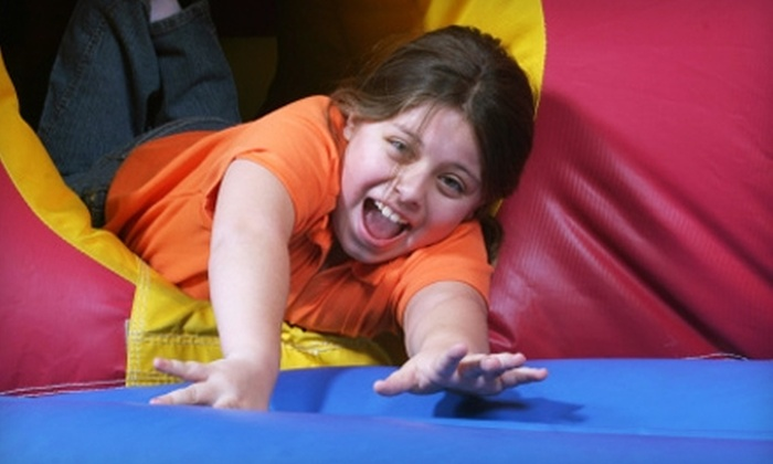 Puzzle's Fun Dome - East Louisville: $9 for One Children's Admission, Two Attractions, and One Drink at Puzzle's Fun Dome