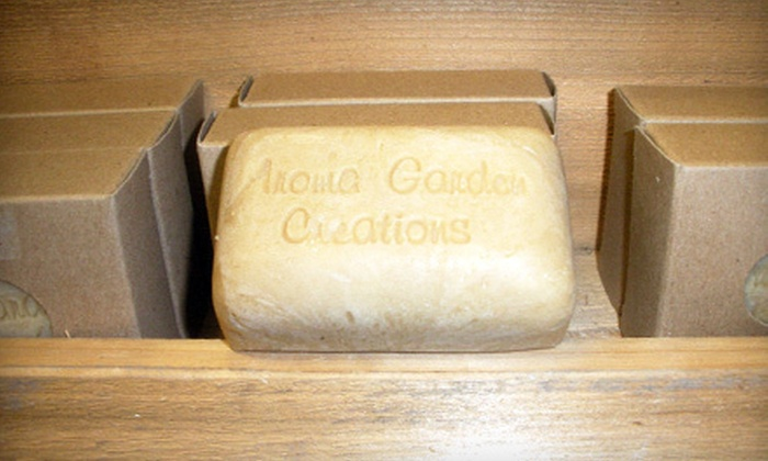 Aroma Garden Creations - Texas City-League City: Handmade Soaps, Toiletries, and Gifts at Aroma Garden Creations in Kemah (Half Off). Two Options Available.
