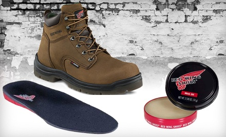 $40 Groupon to Red Wing Shoes - Red Wing Shoes in Fayetteville