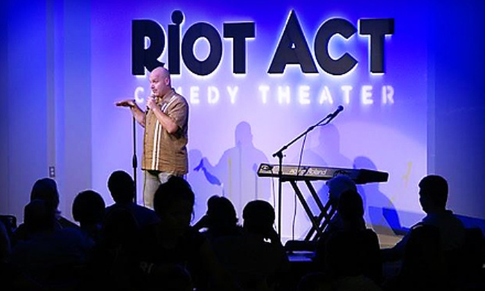 Riot Act Comedy Theater - Downtown - Penn Quarter - Chinatown: $25 for a Comedy Night for Two at Riot Act Comedy Theater (Up to $58 Value)