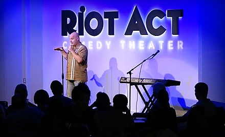 Riot Act Comedy Theater: Comedy Night for 2 - Riot Act Comedy Theater in Washington