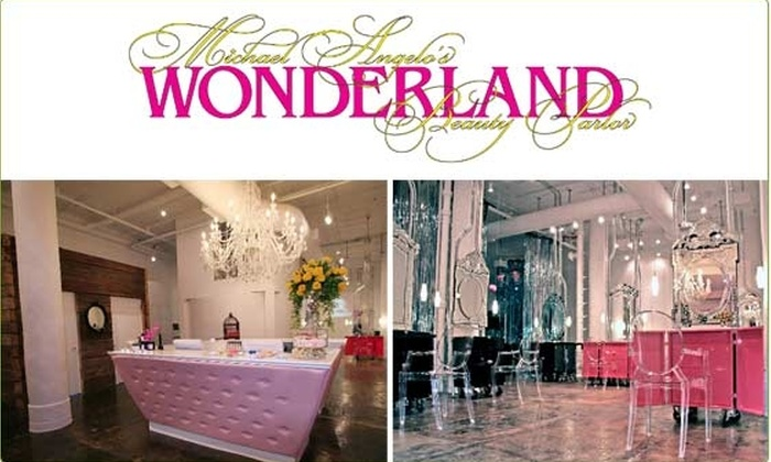 Michael Angelo's Wonderland Beauty Parlor - New York City: $50 for a $100 Groupon to Wonderland Beauty Parlor