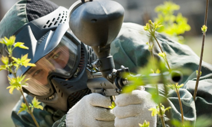 Paintball Nation - Multiple Locations: $20 for a Four-Hour Weekend Paintball Outing for Two With Admission, Equipment, and Paintballs at Paintball Nation (Up to $99 Value)