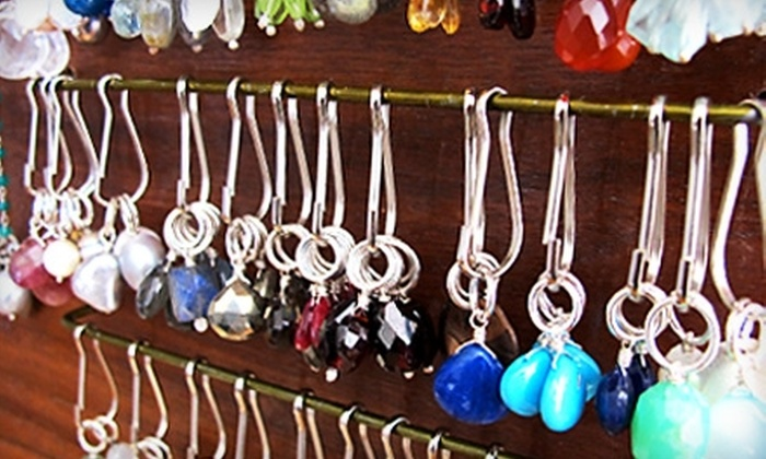 Studio DeLucca - Old Lakewood City: $25 for $50 Worth of Make-Your-Own-Necklace-Bar Jewelry at Studio DeLucca in Long Beach