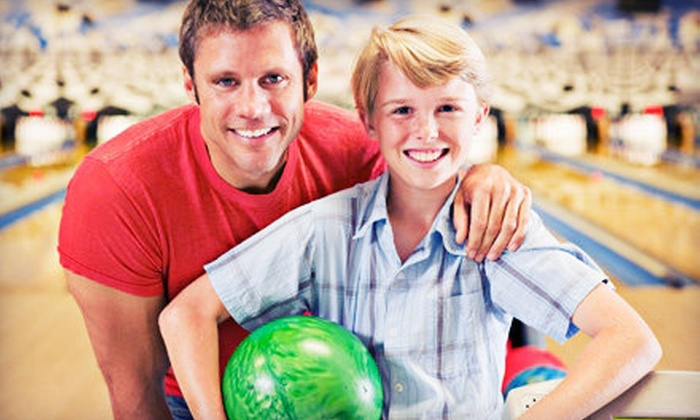 Rockford-Area Bowling Centers - Multiple Locations: $12 for One Hour of Bowling with Shoe Rental for up to Five at Rockford-Area Bowling Centers (Up to $33 Value)