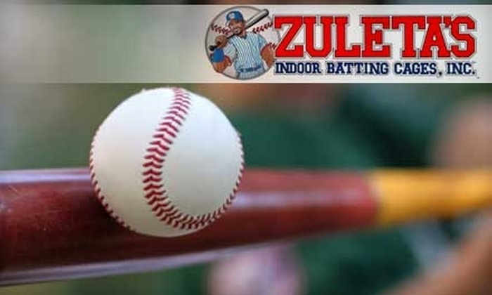 Zuleta's Indoor Batting Cages, Inc. - Fort Myers / Cape Coral: $10 for 20 Minutes at Zuleta's Indoor Batting Cages, Inc. ($20 Value)