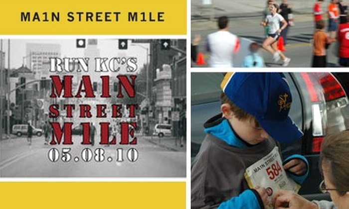 Main Street Mile - Broadway Gillham: $10 Race Entry to the Main Street Mile ($20 Value)