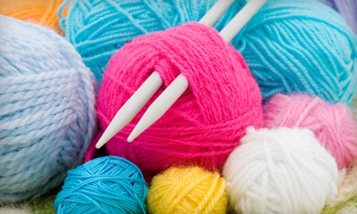Stitch In Time - Parshallville: $15 for a Two-Hour BYOB Knitting Class for Two at Stitch In Time in Howell ($30 Value)