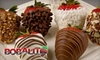 Bobalu Berries - Oxnard: $21 for In-Store Pickup of One Dozen Hand-Dipped Gourmet Chocolate Strawberries at Bobalu Berries in Oxnard ($43.97 Value) or $31 for Delivery ($63.92 Value)