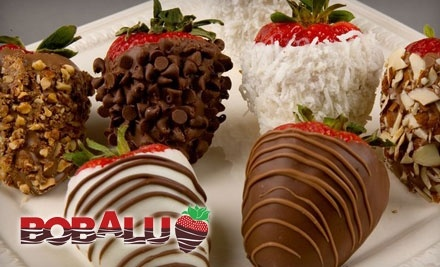 Bobalu Berries: 1 Dozen Hand-Dipped Gourmet Chocolate Strawberries Delivered to Any California Address - Bobalu Berries in Oxnard