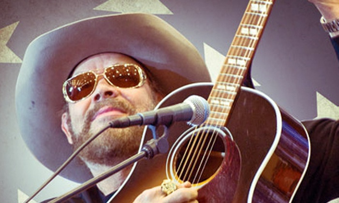 Hank Williams Jr. - Cary's Booth Amphitheatre: $49 for Two to See Hank Williams Jr. on Friday, August 30, at 8 p.m. at Koka Booth Amphitheatre ($118.10 Value)