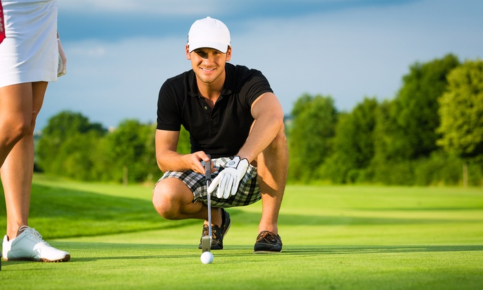 Relax & React Golf - Grantville: Lessons or Nine-Hole Round for One or Two at Relax & React Golf (Up to 51% Off)