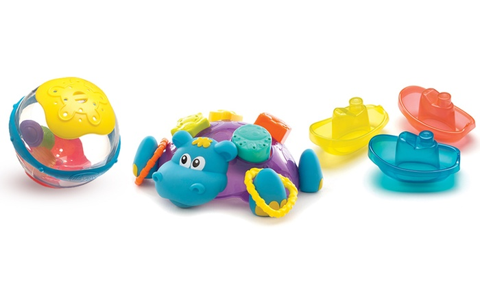 assorted bath toys groupon goods. Black Bedroom Furniture Sets. Home Design Ideas