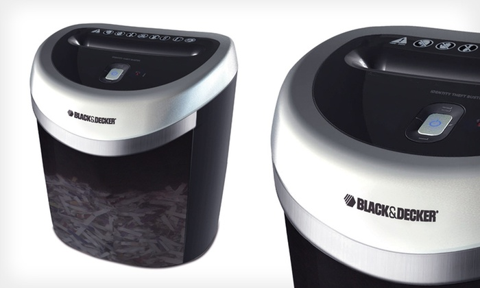 Black & Decker Identity Theft Buster: $65 for a Black & Decker Identity Theft Buster Junk-Mail Shredder ($99.99 List Price). Free Shipping and Free Returns.