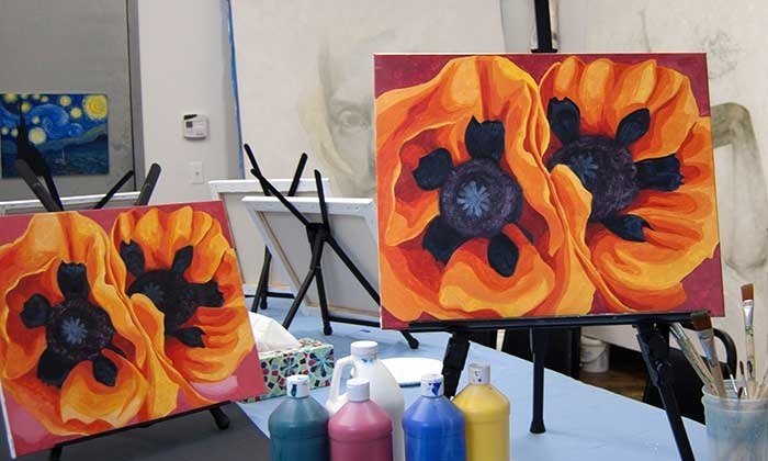 Georgia O'Keefe's Painting Class - Brooklyn: Re-create a Romantic Painting for Valentine's Day with an Artist