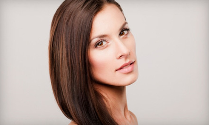 Industrie Hairdressing - Flatiron Marketplace: Haircut with Deep-Conditioning Treatment and Optional Color or Highlights at Industrie Hairdressing (Up to 55% Off)
