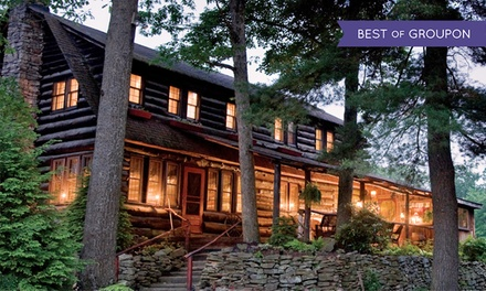 groupon daily deal - 2-Night Stay for Two at Gateway Lodge in Cooksburg, PA. Combine Up to 4 Nights.