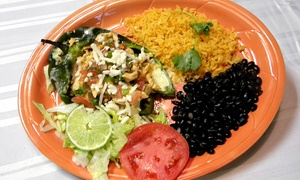 Plaza Mexican Bar and Grill: $9 for $15 Worth of Mexican Food at Plaza Mexican Bar and Grill