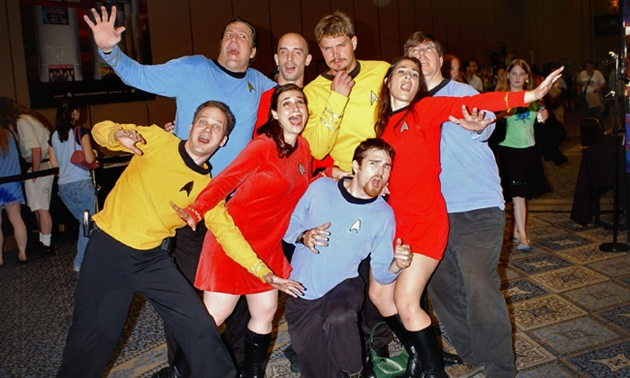 """Creation Entertainment - THE WESTIN O'HARE: Admission to """"Salute to Star Trek"""" Convention from Creation Entertainment, June 12–14 (Up to 40% Off)"""
