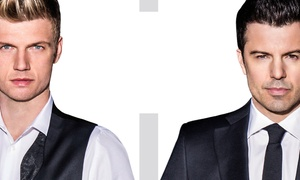 Jordan Knight And Nick Carter At Baltimore Soundstage On Friday, October 17, At 8 P.m. (up To 45% Off)
