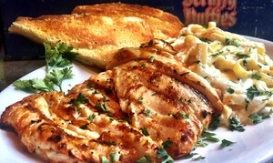 Scruffy Duffies: Pub Fare for Dinner for Two at Scruffy Duffies (Up to 40% Off)