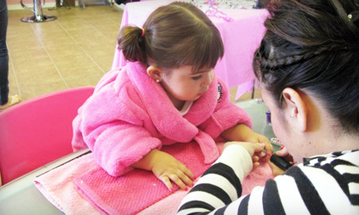 Totally Spoiled - El Paso: Mom-and-Daughter Manicure Package or a Girls' Spa Package with Mani-Pedi and Facial at Totally Spoiled (Up to 53% Off)