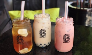 Bobo Drinks Express: Boba Tea, Milk Tea, and Desserts at Bobo Drinks Express (Up to 50% Off). Two Options Available.
