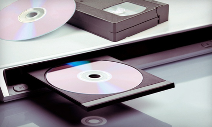 Camcor - Gallum Area: One or Five Video-to-DVD Conversions at Camcor in Burlington (Up to 63% Off)