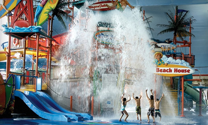 Fallsview Indoor Waterpark - Fallsview Indoor Waterpark: $24 for an All-Day Outing to Fallsview Indoor Waterpark in Niagara Falls ($52.32 Value)