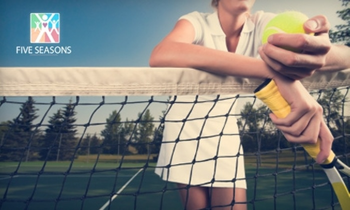 Five Seasons Family Sports Club - Multiple Locations: $45 for a Six-Week Baseline Tennis Program and a Six-Week Gold Membership at Five Seasons Family Sports Club ($99 Value). Two Cincinnati-Area Locations.