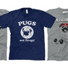 Men's Pug T-Shirts
