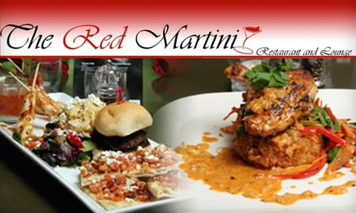 The Red Martini - Ajax: $12 for $25 Worth of Artful Upscale Fare and Drinks at The Red Martini in Ajax