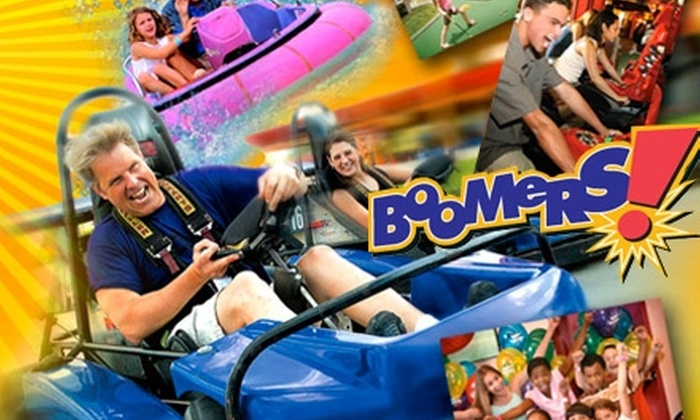 Boomers! Fresno - Woodward Park: $9 for Two Attractions at Boomers! Fresno (Up to $19 Value)