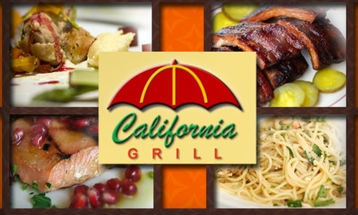 California Grill - Whittier City: $10 for $25 Worth of Upscale Diner Fare at California Grill