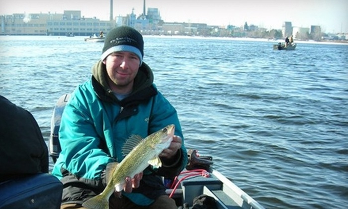 Why Knot Guide Service - Red River: $175 for a Six-Hour Walleye Fishing Trip for Up to Four People from Why Knot Guide Service in Luxemburg ($350 Value)