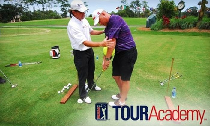 Tour Academy Hilton Head at Port Royal Golf Club - Bluffton: $55 for a One-Hour Private Golf Lesson from Tour Academy Hilton Head at Port Royal Golf Club on Hilton Head Island ($110 Value)