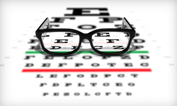 Visual Eyes - Multiple Locations: $49 for an Eye Exam Plus $225 Toward a Complete Pair of Glasses at Visual Eyes ($355 Value)