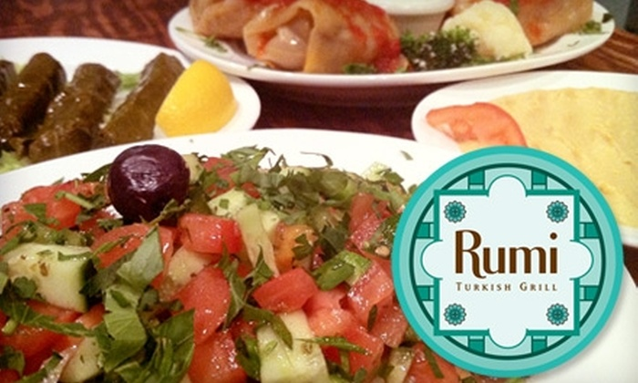 Rumi Turkish Grill - North Jersey: $20 for $40 Worth of Turkish Cuisine at Rumi in Jersey City