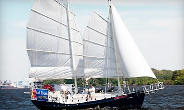 American Sailing Tours - Northern Liberties/ Fishtown: $40 for Two Tickets to a Sailing Tour from American Sailing Tours ($80 Value)